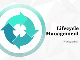 Lifecycle Management Planning Purchase Conceive Design Manufacture Deliver
