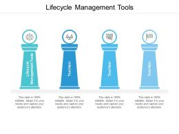 Lifecycle Management Tools Ppt Powerpoint Presentation Infographics Structure Cpb