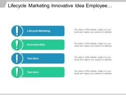 Lifecycle Marketing Innovative Idea Employee Reference Checks Automated Testing Cpb