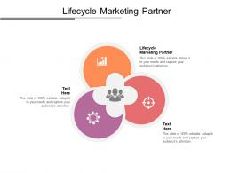 Lifecycle Marketing Partner Ppt Powerpoint Presentation Summary Graphics Download Cpb