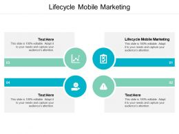 Lifecycle Mobile Marketing Ppt Powerpoint Presentation Outline Graphics Example Cpb