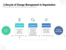 Lifecycle Of Change Management In Organization