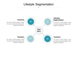 Lifestyle Segmentation Ppt Powerpoint Presentation Inspiration Outfit Cpb