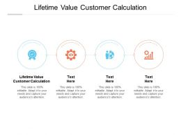 Lifetime Value Customer Calculation Ppt Powerpoint Presentation Sample Cpb