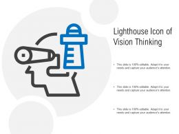 Lighthouse Icon Of Vision Thinking