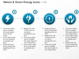 Lighting Green Plug Home Safety Power Circulation Ppt Icons Graphics