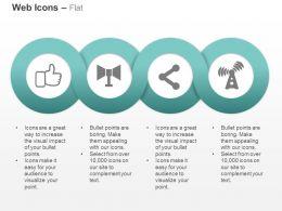 Like Wifi Antenna Symbols Ppt Icons Graphics