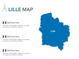 Lille Map Powerpoint Presentation PPT Template