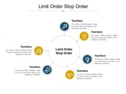 Limit Order Stop Order Ppt Powerpoint Presentation Styles Show Cpb