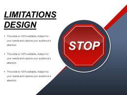 Limitations Design Sample Of Ppt