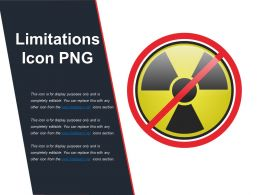 Limitations Icon Png Powerpoint Show