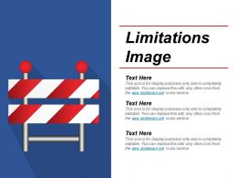 Limitations Image Powerpoint Themes