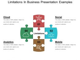 Limitations In Business Presentation Examples