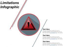Limitations Infographic Ppt Background
