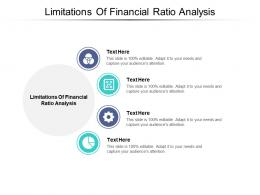 Limitations Of Financial Ratio Analysis Ppt Powerpoint Presentation Show Slide Download Cpb