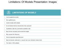 Limitations Of Models Presentation Images
