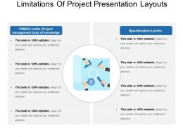 Limitations Of Project Presentation Layouts