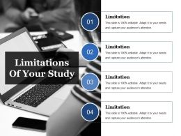 Limitations Of Your Study Ppt Ideas
