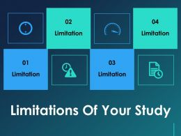 Limitations Of Your Study Ppt Templates
