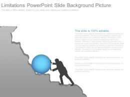 Limitations Powerpoint Slide Background Picture