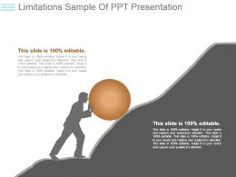Limitations Sample Of Ppt Presentation