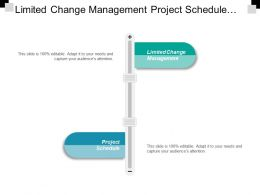Limited Change Management Project Schedule Working Increment Software
