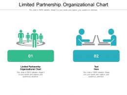 Limited Partnership Organizational Chart Ppt Powerpoint Presentation Layouts Examples Cpb