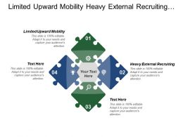 Limited Upward Mobility Heavy External Recruiting History Commitment