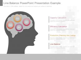 Line Balance Powerpoint Presentation Example