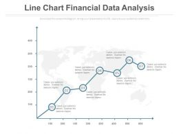 Line Chart For Finance Data Analysis Powerpoint Slides
