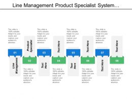 Line Management Product Specialist System Operations Service Desk