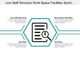 Line Staff Structure Work Space Facilities Sprint Retrospective