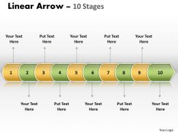Linear Arrow 10 Stages 10