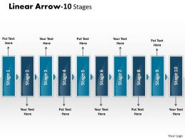 Linear Arrow 10 Stages 15