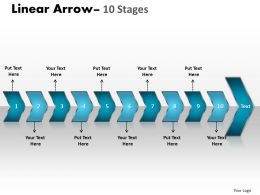 Linear Arrow 10 Stages 9