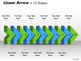 linear_arrow_11_stages_2_Slide01