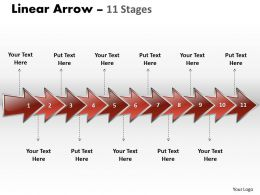 linear_arrow_11_stages_6_Slide01