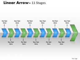 linear_arrow_11_stages_7_Slide01