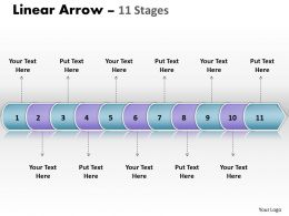 linear_arrow_11_stages_8_Slide01