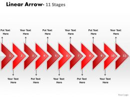linear_arrow_11_stages_9_Slide01