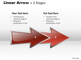 linear arrow 2 stages 23