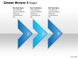 Linear Arrow 3 Stages 24