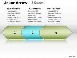 Linear Arrow 3 Stages 25