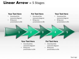 Linear Arrow 5 Stages 46
