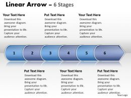 Linear Arrow 6 Stages 37