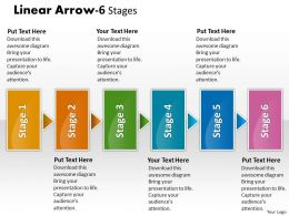 Linear Arrow 6 Stages 8
