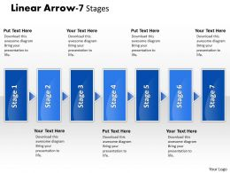 Linear Arrow 7 Stages 3