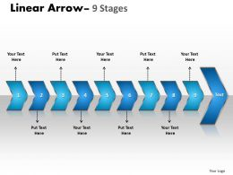 Linear Arrow 9 Stages 11