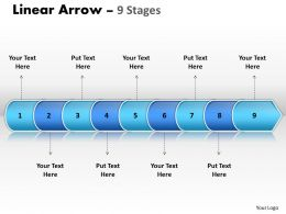 Linear Arrow 9 Stages 12