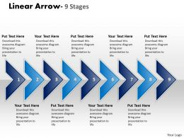 Linear Arrow 9 Stages 13